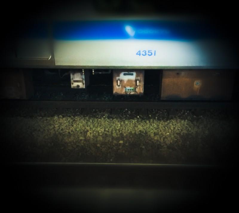 電車のパーツ